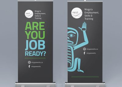 NEST pull-up banners